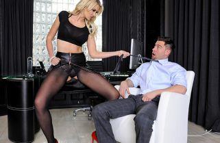 Gigi Allens Office Porn