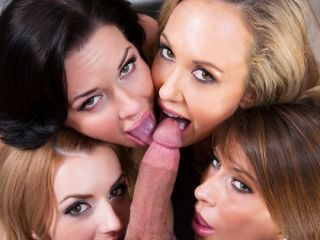 Brandi Love & Lexi Belle & Madison Ivy & Veronica Avluv Office Porn